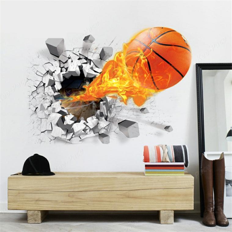 Decorazioni pareti di legno e 3d effetti abbelliscono il muro for Decorazioni muro