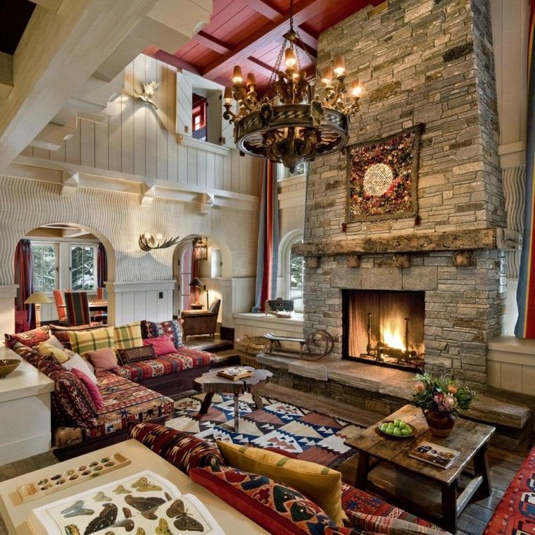 addobbi autunnali decorazioni design soggiorno