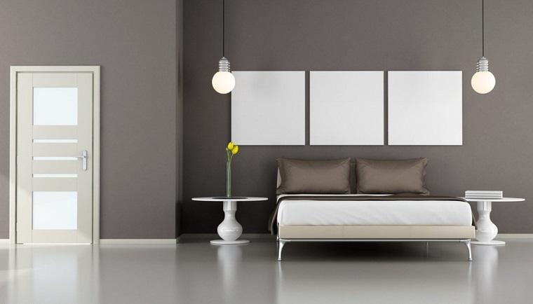arredamento moderno colori chiari neutri illuminazione moderna