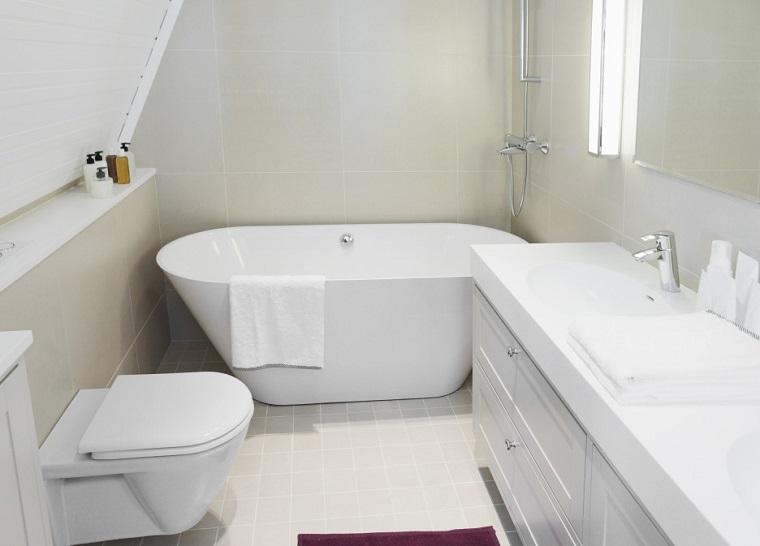 Arredamento Vasca Da Bagno Piccola : Arredare il bagno mobili materiali e sanitari archzine
