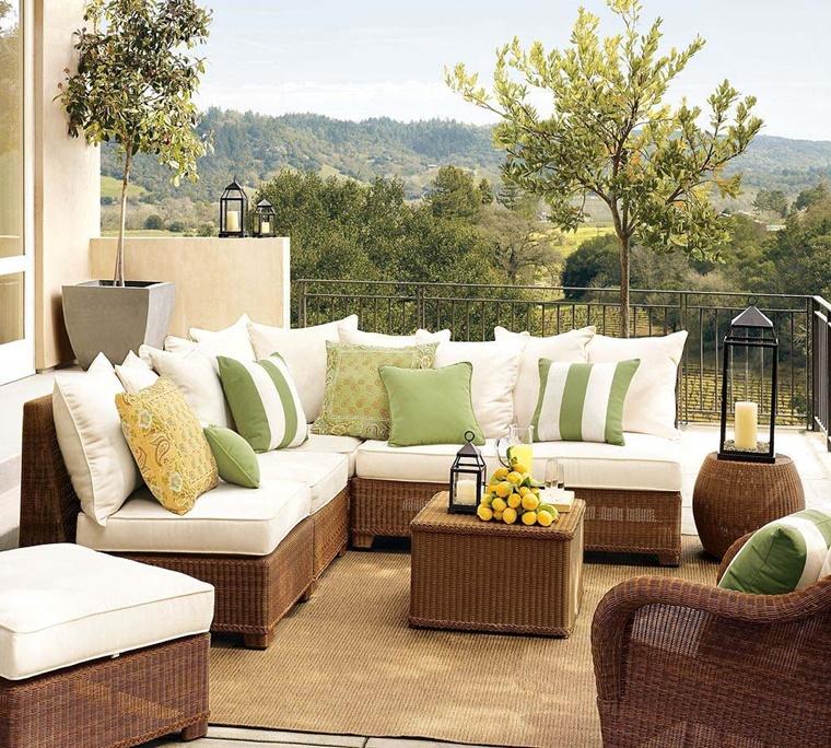 Arredo terrazzo per un effetto moderno ed elegante ...