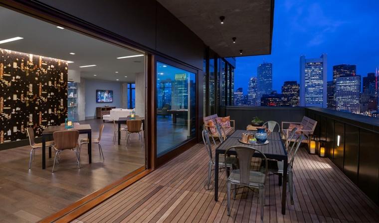 Arredo terrazzo per un effetto moderno ed elegante for Arredo per terrazzo esterno