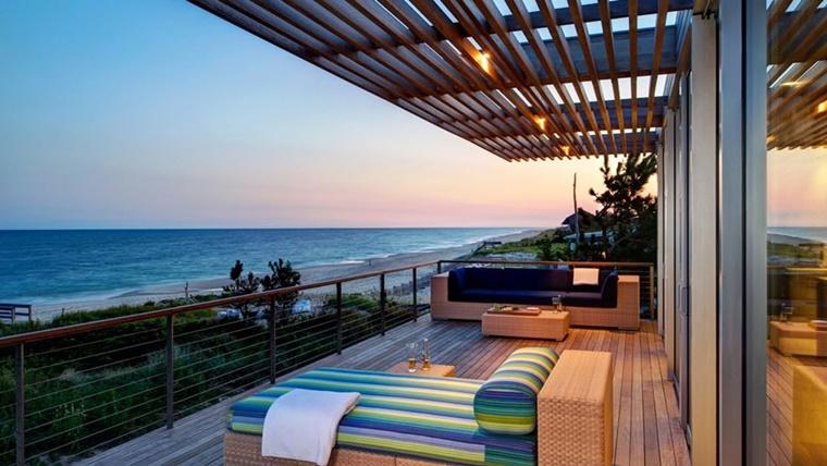 Arredo terrazzo per un effetto moderno ed elegante - Archzine.it