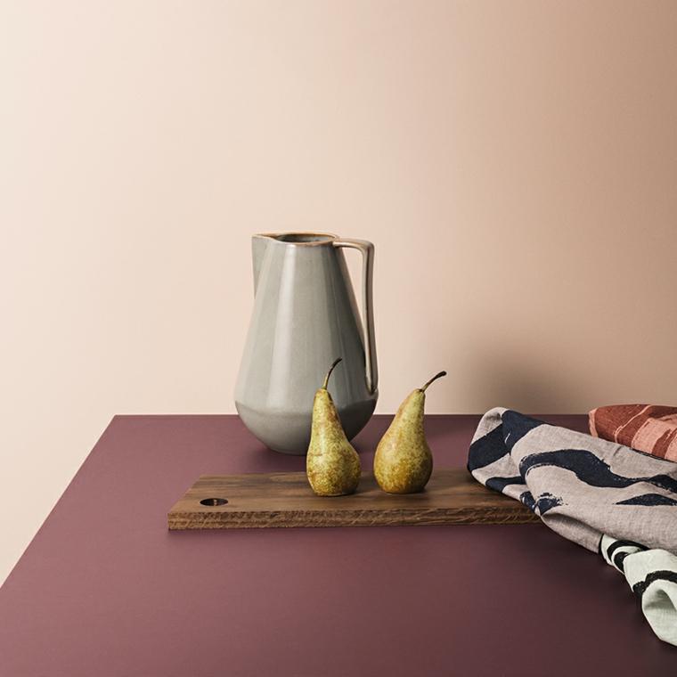 autunno colori teneri viola rosa abbinano giallo pere