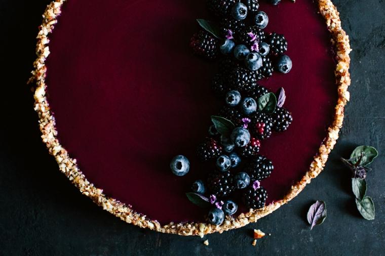 autunno piacere dolce frutti bosco bordeaux viola