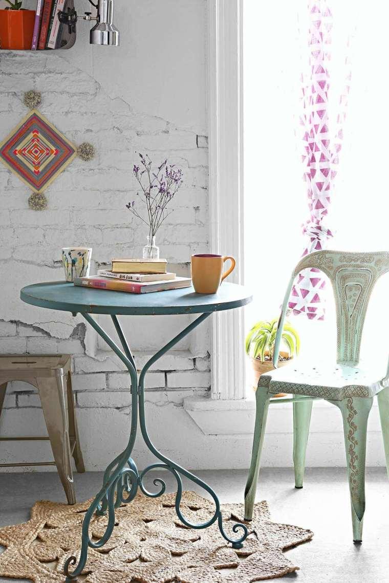 boho chic tavolino sedia adorabili