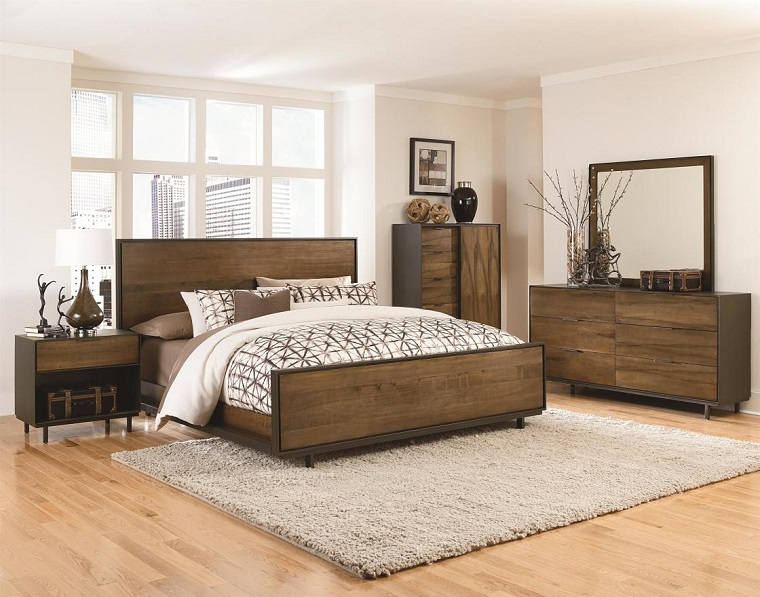 Camera Da Letto Moderna 2016 : Camera da letto moderna stile minimalista in idee