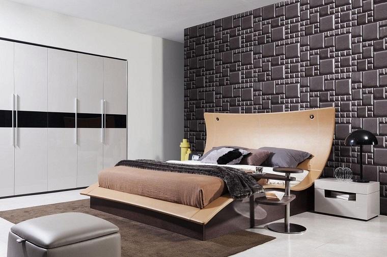 camera da letto moderna minimalismo moderno