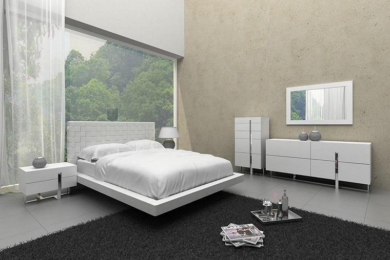 Camera da letto moderna stile minimalista in 34 idee - Archzine.it