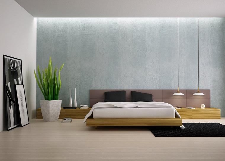 Camera da letto moderna stile minimalista in 34 idee ...