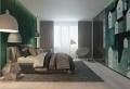 Camere per ragazzi – un tocco di verde smeraldo