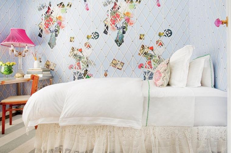 cameretta per ragazze decorazioni mobili