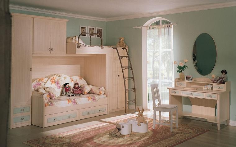 camerette per bambini arredamento stile vittoriano classico