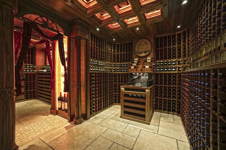 Cantinetta vino moderna - il sogno di ogni intenditore - Archzine.it