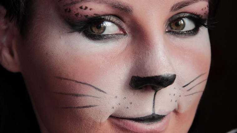 creazione make up gatto carino