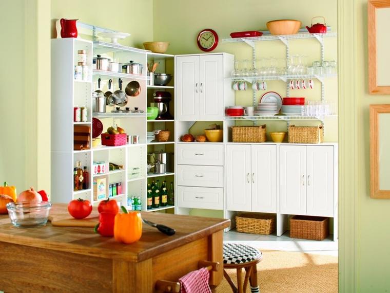 Organizzare La Credenza : Dispensa come organizzare gli spazi in cucina al meglio