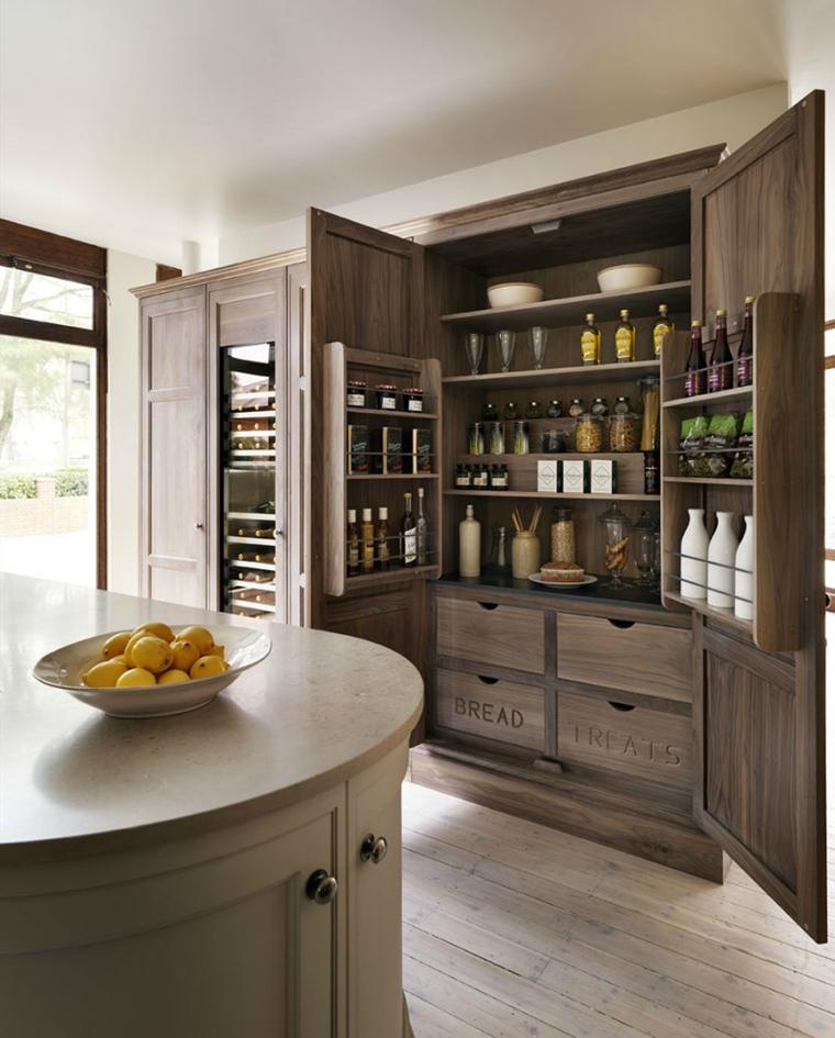 crendenza cucina legno dove mettere spese
