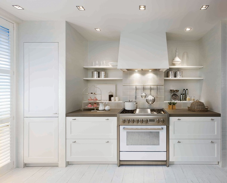 cucina moderna tradizionale compatta funzionale