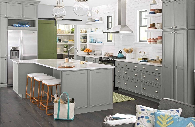 cucine moderne cucina con isola funzionale