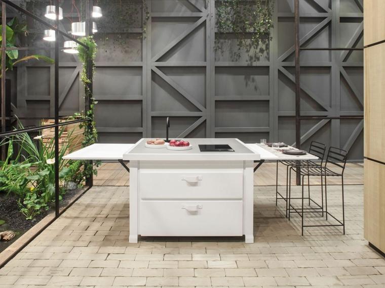 Cucine piccole risparmiare dello spazio con cucine for Design dello spazio esterno