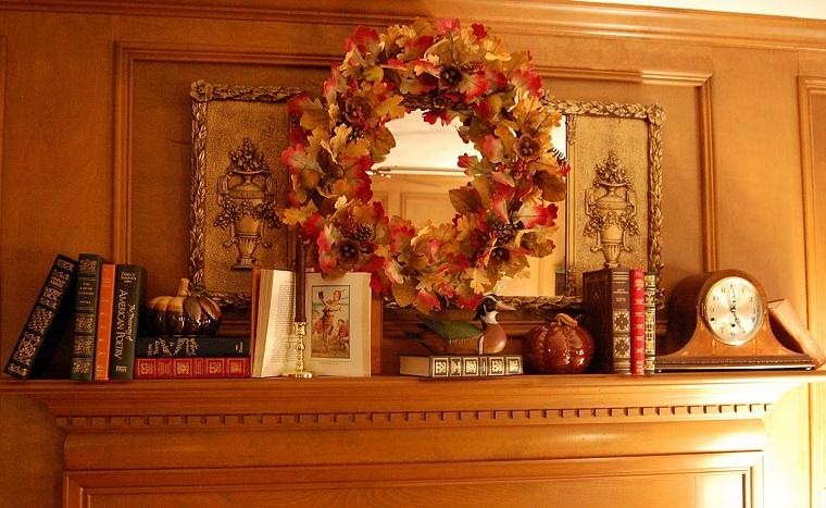 decorazione interior design camino soggiorno