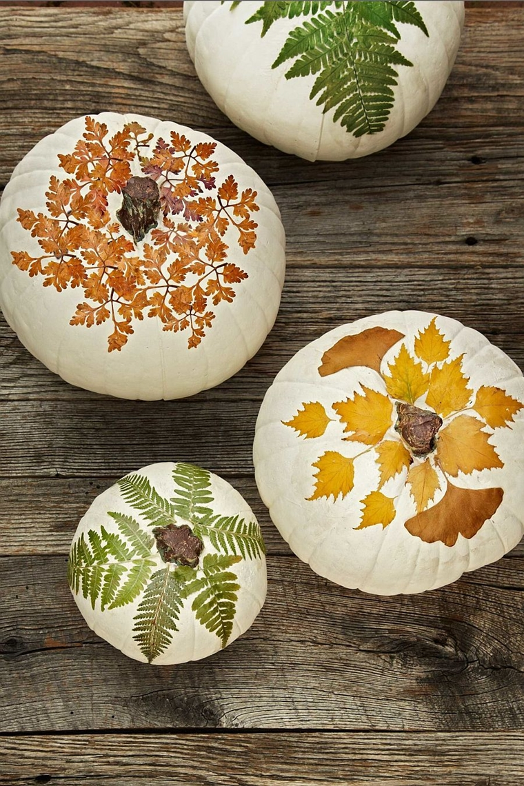 decorazioni halloween addobbi fai da te motivi autunnali