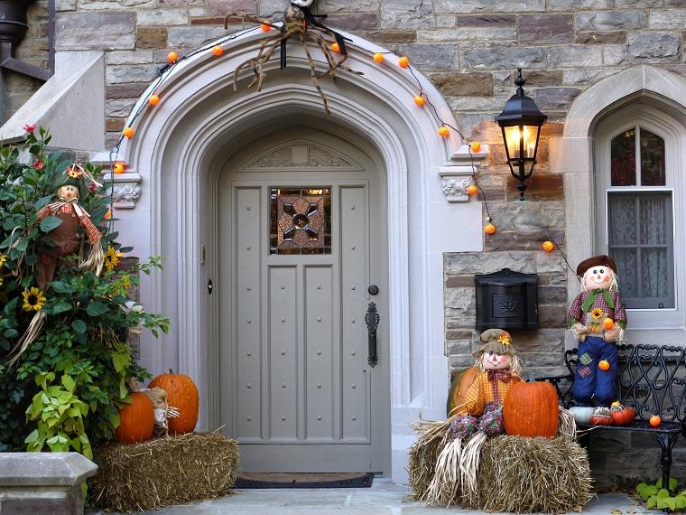 decorazioni halloween casa zucca originale