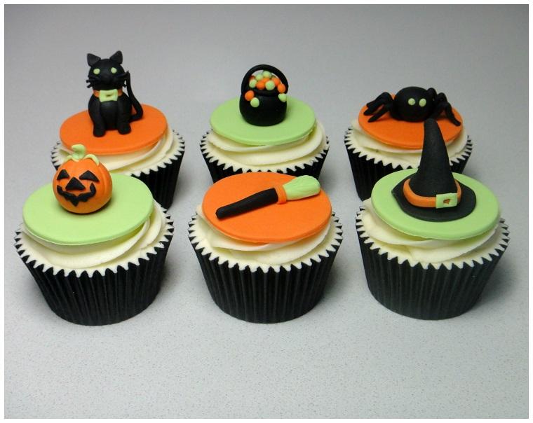 decorazioni halloween muffins dolci ragno
