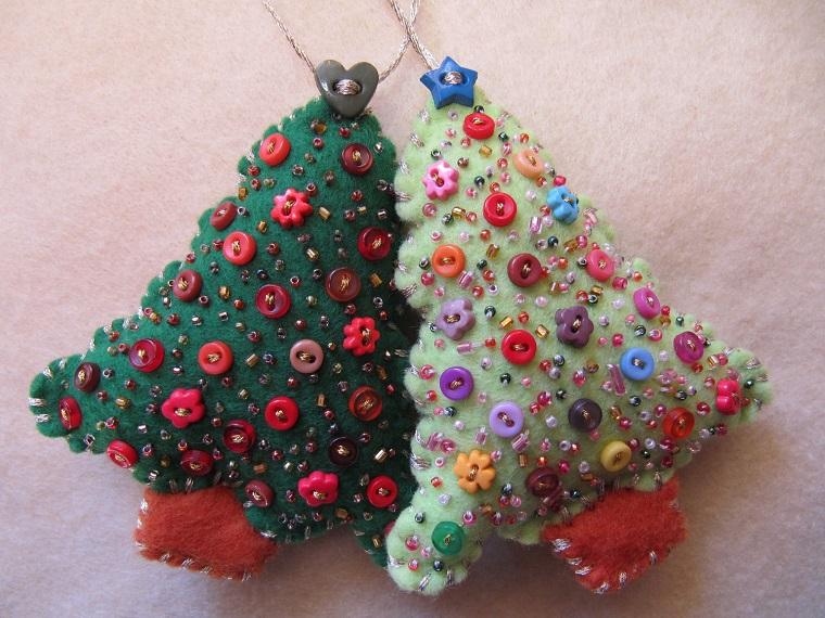 decorazioni natalizie fai da te albero di natale