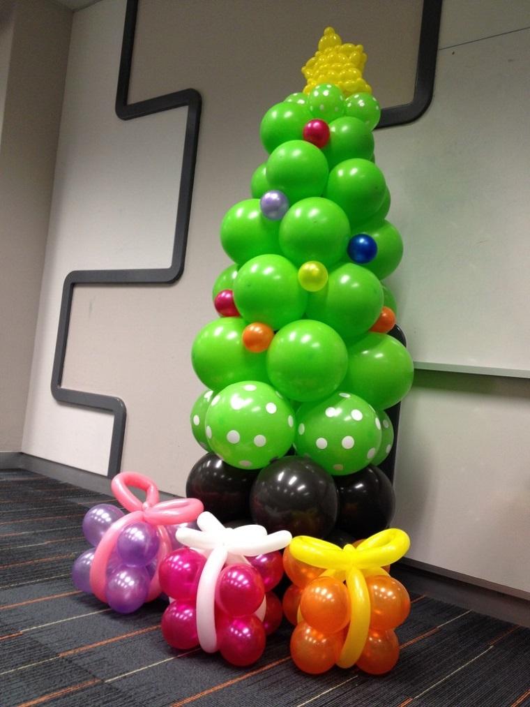 decorazioni natalizie fai da te albero natale