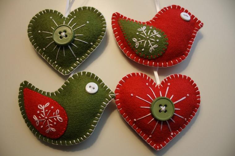 decorazioni natalizie fai da te feltro