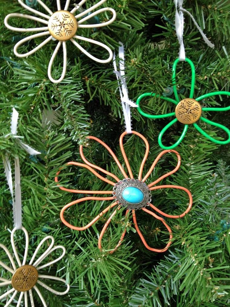 decorazioni natalizie fai da te ferro