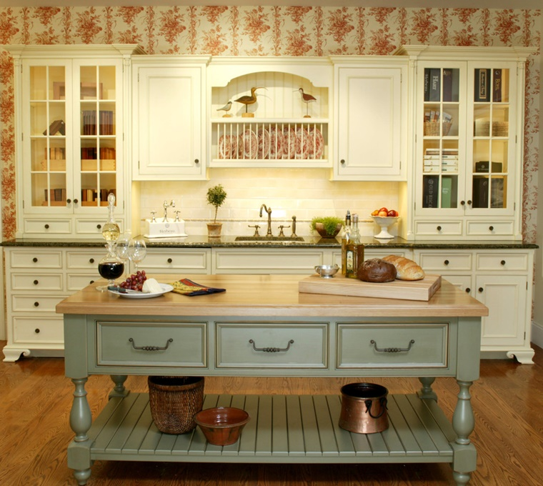design cucina country elementi moderni