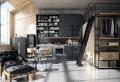 Design industriale, loft in stile maschile