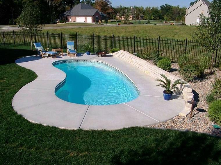 design moderno piscina ideale bambini
