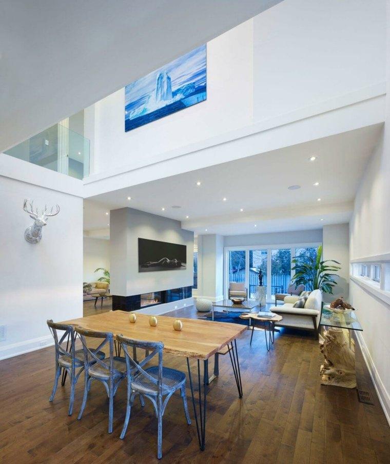 design moderno sala da pranzo soggiorno