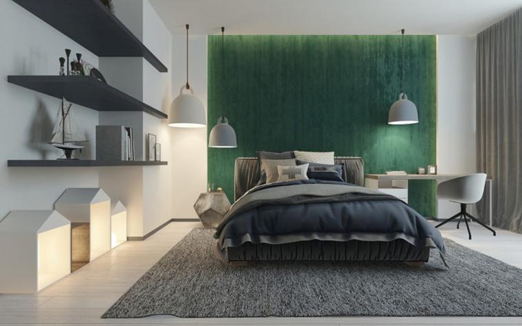 Camera Da Letto Verde Smeraldo : Camere per ragazzi un tocco di verde smeraldo meraviglioso