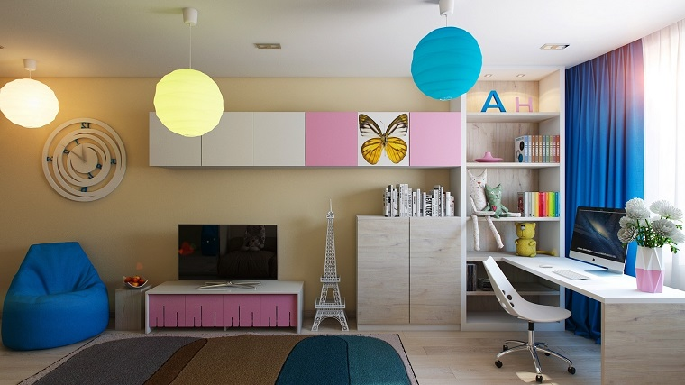 childrens bedroom ceiling lights camerette per bambini design e tendenze stravaganti 14795