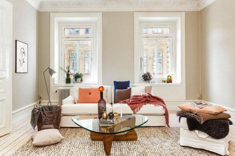 idee casa stile bohemien salotto