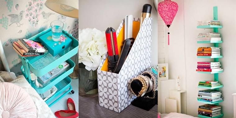 idee intelligenti facili organizzare spazi piccoli