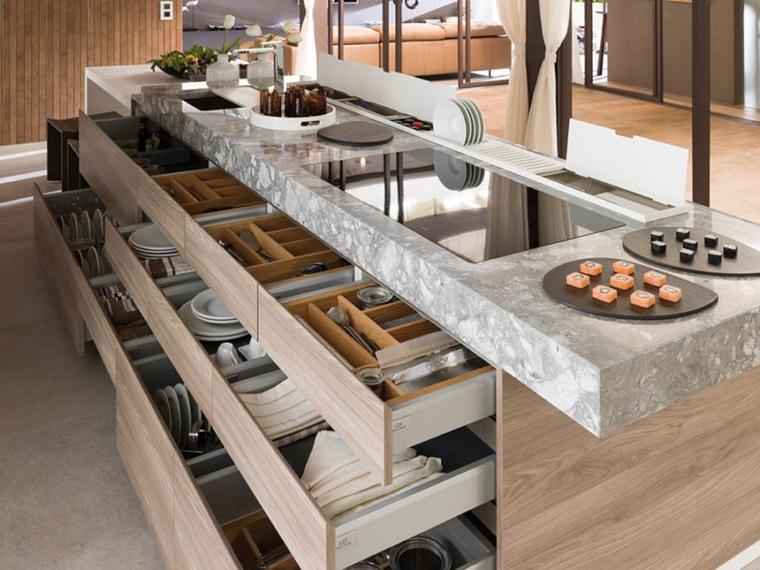 Dispensa come organizzare gli spazi in cucina al meglio for Idee salvaspazio cucina