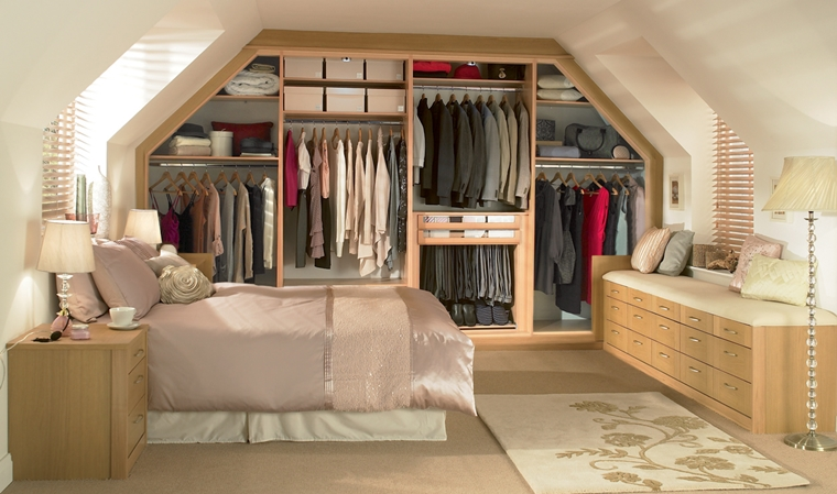 idee salvaspazio organizzare spazio camera letto