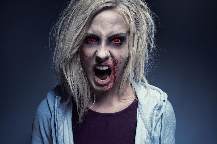 idee trucco halloween donna zombie