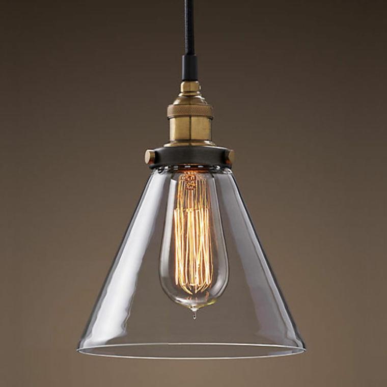 lampada moderna stile retrò