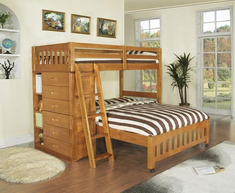 letto a castello mobili moderni legno cameretta