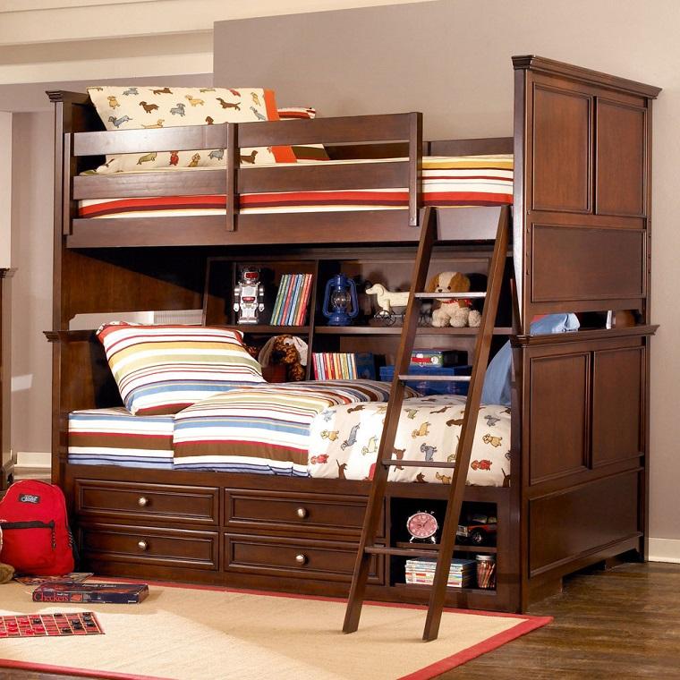 letto a castello mobili moderni legno massiccio