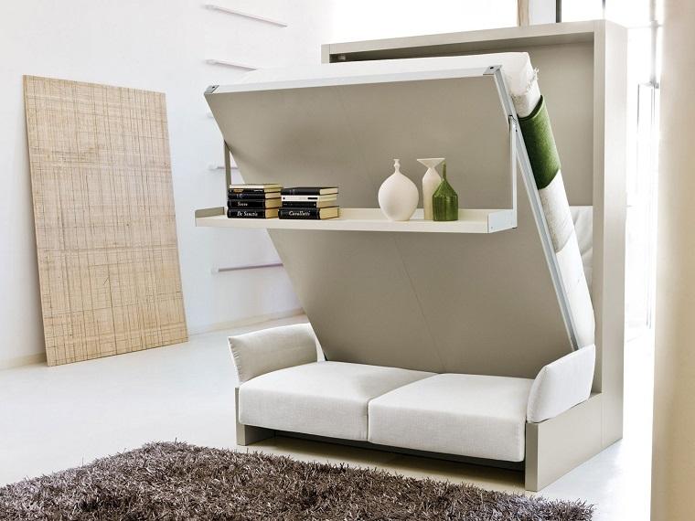 letto scomparsa mobili salvaspazio divano