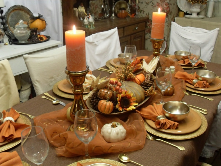 marone beige ricevimento durante autunno