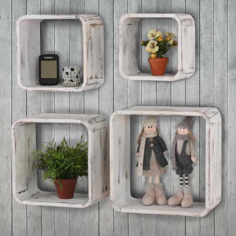 mensole cubo ottime esporre piccole figurine