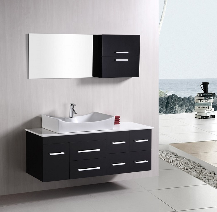 Arredare il bagno mobili materiali e sanitari for Materiali per mobili